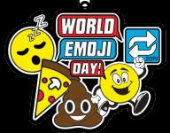 World Emoji Day 1 Mile, 5K, 10K, 13.1, 26.2 registration logo