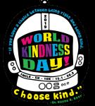 World Kindness Day 1 Mile, 5K, 10K, 13.1, 26.2 registration logo