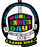 World Kindness Day 1 Mile, 5K, 10K, 13.1, 26.2 registration logo