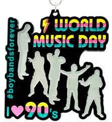 World Music Day 1M 5K 10K 13.1 26.2
