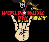 World Music Day 5K & 10K registration logo