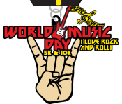 World Music Day 5K & 10K registration logo