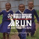 World Orphans Run registration logo