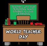 World Teacher Day 1 Mile, 5K, 10K, 13.1, 26.2 registration logo