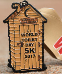 World Toilet Day 5K - Clearance from 2017 registration logo