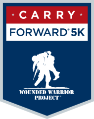 Wounded Warrior Project Carry Forward 5K registration logo