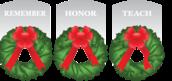 Wreaths Across America Virtual 5k for Gerald B. Solomon Saratoga National Cemetery registration logo