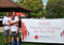 WRG Memorial Scholarship Run/Walk registration logo