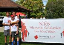 WRG Memorial Scholarship Run/Walk registration logo