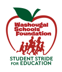 WSF Stride registration logo