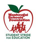 WSF Stride registration logo