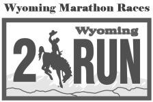 Wyoming Marathon Races registration logo