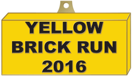 Yellow Brick Run registration logo