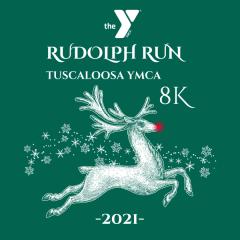 YMCA Rudolph 8k Run/Walk registration logo