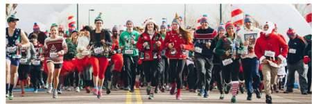 YMCA Ugly Christmas Sweater Run/Walk registration logo