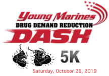 Young Marines 5k registration logo