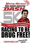 Young Marines DDR Dash - Casper registration logo