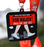 Your Feet Were Made for Walkin 1 Mile, 5K, 10K, 13.1 Now only $12.00! registration logo