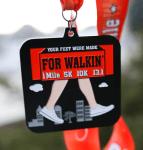 Your Feet Were Made for Walkin' 1 Mile, 5K, 10K, 13.1 - Clearance registration logo