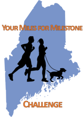 Your Miles For Milestone Challenge registration logo