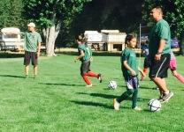 Youth Soccer League registration logo