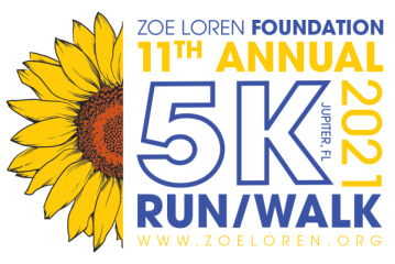 Zoe Loren Make A Difference Foundation 5k Run/Walk registration logo