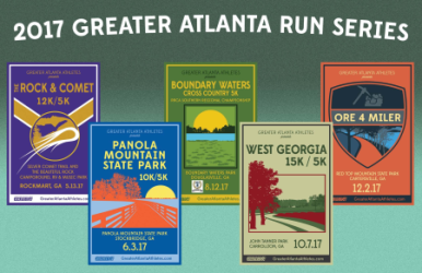 2017 Greater Atlanta Run Series registration logo