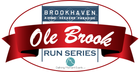 2019 Ole Brook Run Series registration logo