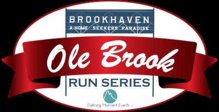 2019 Ole Brook Run Series registration logo
