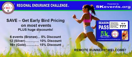 2021 Regional Endurance Challenge registration logo