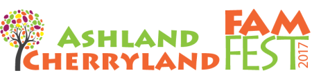 Ashland Cherryland FamFest - Race Clinic & 5K Fun Run registration logo