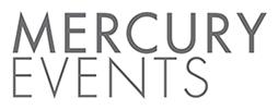 Mercury Events registration logo