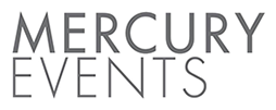 Mercury Events registration logo