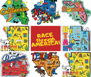 Race Through America Series registration logo