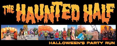 The Haunted Half registration logo