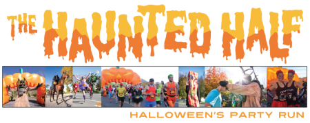 The Haunted Half registration logo