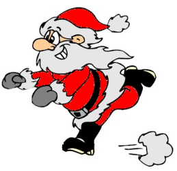 Utah Santa Run Races registration logo