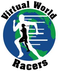 Virtual World Racers - Race Across Planet Earth registration logo