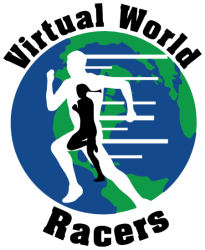 Virtual World Racers - Race Across Planet Earth registration logo
