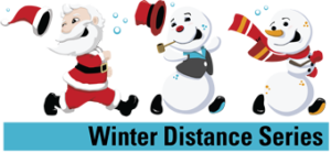 Winter Distance Series registration logo