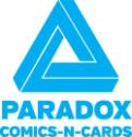Paradox Comics-N-Cards logo