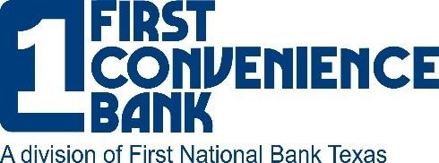 First Convenience Bank logo