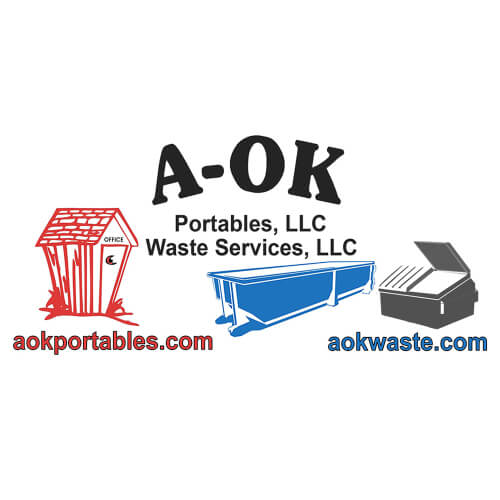 A-OK Portables & Waste Services logo