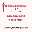 R. Costa Plumbing logo