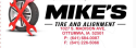 Mike's Tire and Alignment  logo
