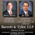 Barrett & Tyler - Attorney logo