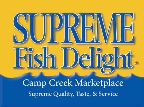 Supreme Fish Delight-Camp Creek Marketplace logo