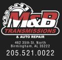 M&B Transmissions  logo