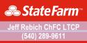 Jeff Rebich of State Farm logo