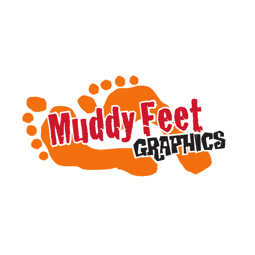 Muddy Feet Graphics logo
